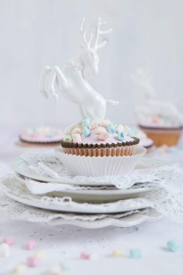 """Marshmallow Orangen Cupcakes!"""