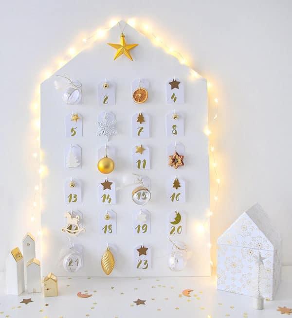 Weihnachtshaus Adventskalender