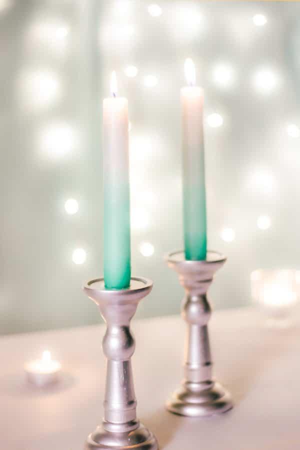 Ombré Kerzen