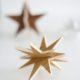 3D Sterne aus Holz