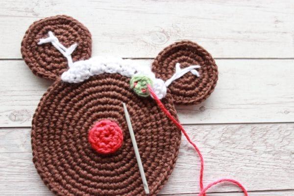 Winterliche Untersetzer Häkeln Mit Disney Touch Handmade Kultur