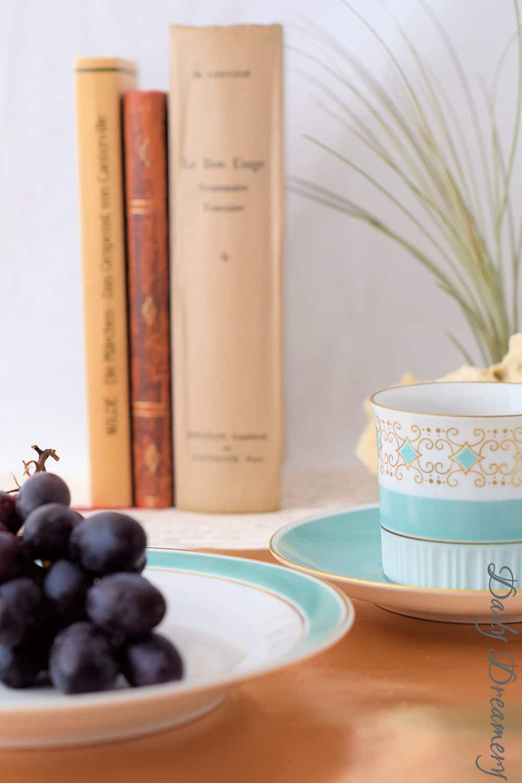 elegante tisch sets aus texipap in der trendfarbe kupfer handmade kultur. Black Bedroom Furniture Sets. Home Design Ideas