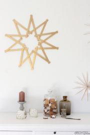Goldener Weihnachtsstern