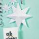 Weihnachtsdekoration basteln - 3D Stern & Weihnachtskugel