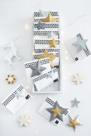 Last-Minute-Adventskalender + DIY Papiersterne in 3D