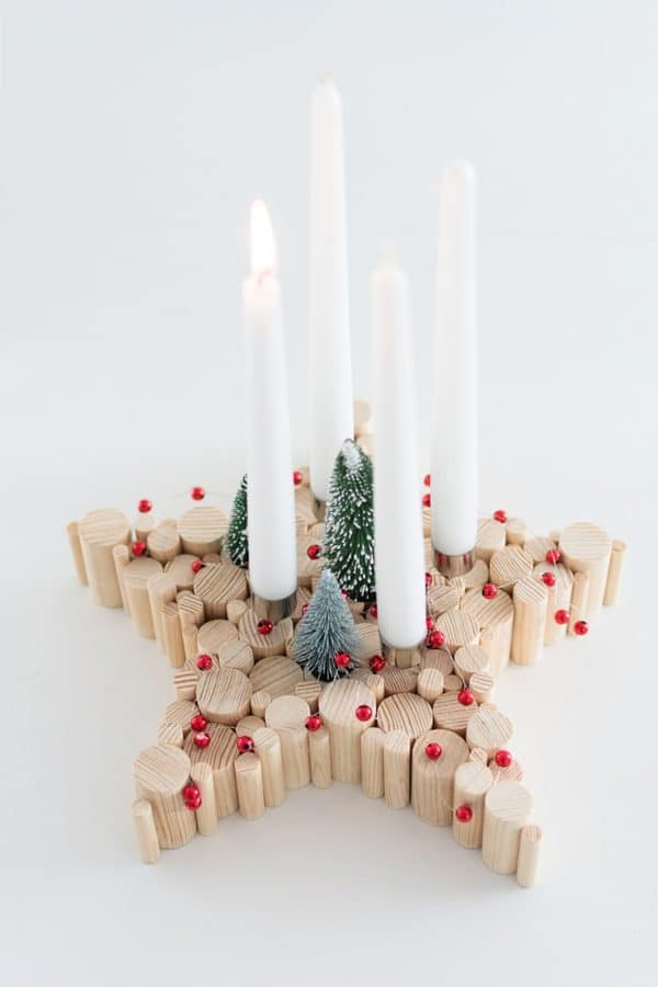 DIY Adventskranz - mal anders!