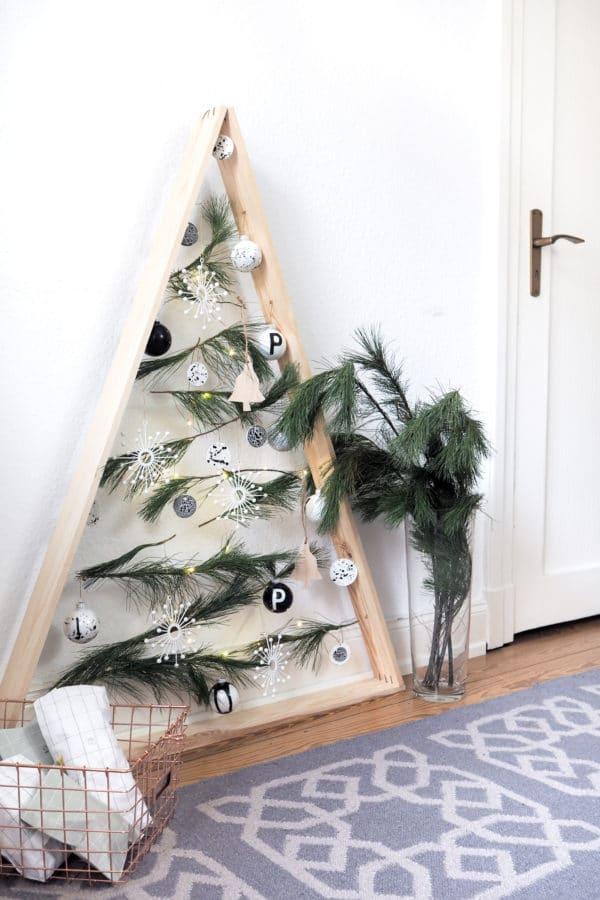 Alternativer Weihnachtsbaum - HANDMADE Kultur