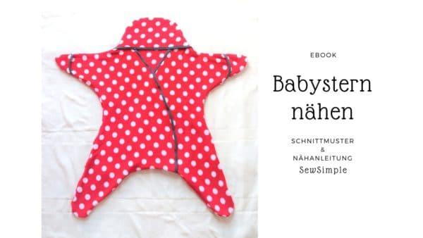 Anleitung: Babystern nähen - HANDMADE Kultur