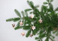 Weihnachtssterne aus Modelliermasse