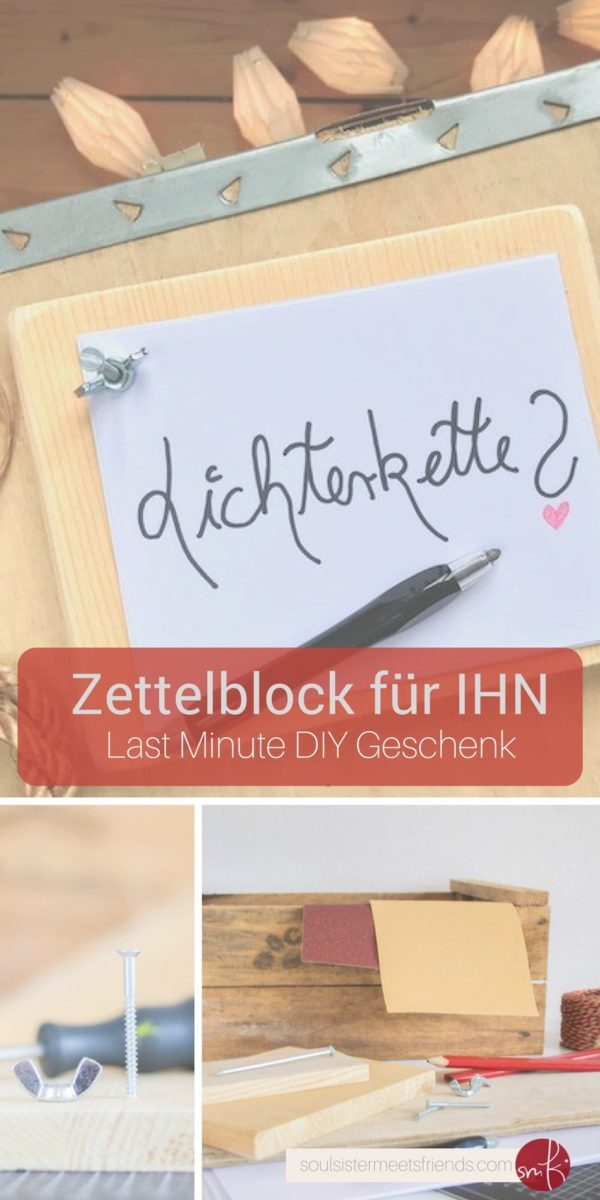 last minute diy geschenk f r ihn handmade kultur. Black Bedroom Furniture Sets. Home Design Ideas