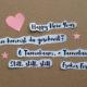 DIY Weihnachtskarten // Collagen aus Icons und Text (mit Druckvorlage)