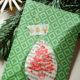Gestempelte Weihnachtsanhänger