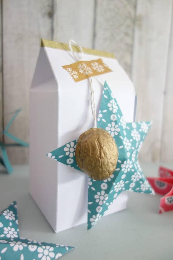 Last Minute-Geschenkverpackung (gratis zum Ausdrucken)