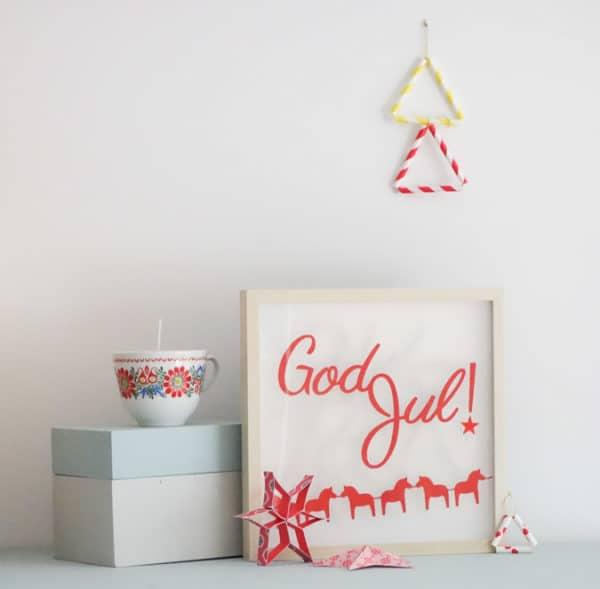 God Jul! Frohe Weihnachten!
