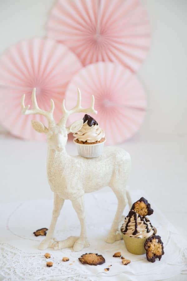 """""""Florentiner-Cupcakes mit Buttercreme & Schokoladen-Ganache!"""""""