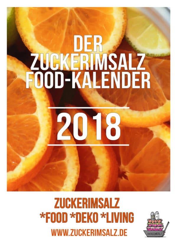 Der Food Kalender 2018 made by Zuckerimsalz