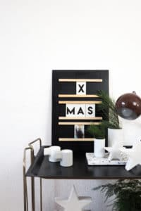 DIY Letter- & Fotoboard