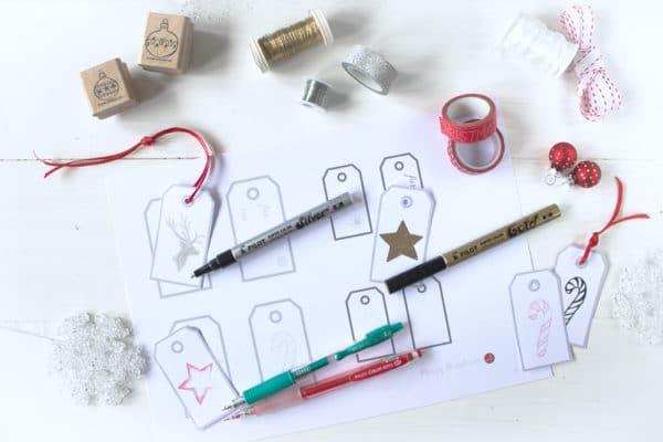 Freebie 8 Geschenkanhänger Zum Selbst Gestalten Handmade