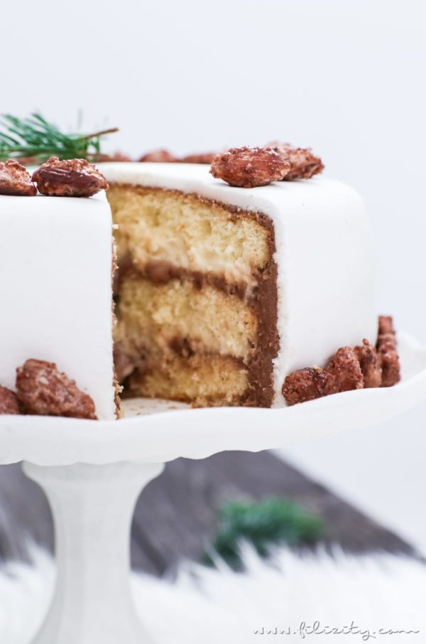 Gebrannte Mandel Torte Handmade Kultur