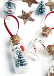 Geschenkanhänger im Mini-Glas