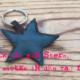 Stern-Schlüsselanhänger