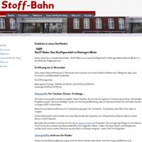 Stoff-Bahn: Das neue Stoffgeschäft in Ratingen Mitte