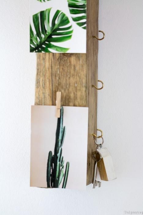 Schlüsselbrett aus Treibholz