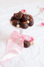 """""""Schokoladen Cookies mit Orangenbutter & gebrannten Mandeln!"""""""