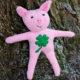 Nähanleitung kleines Glücksschwein