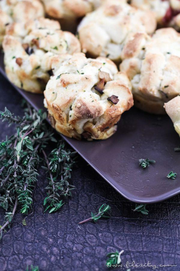 Schnelle Pizza-Muffins