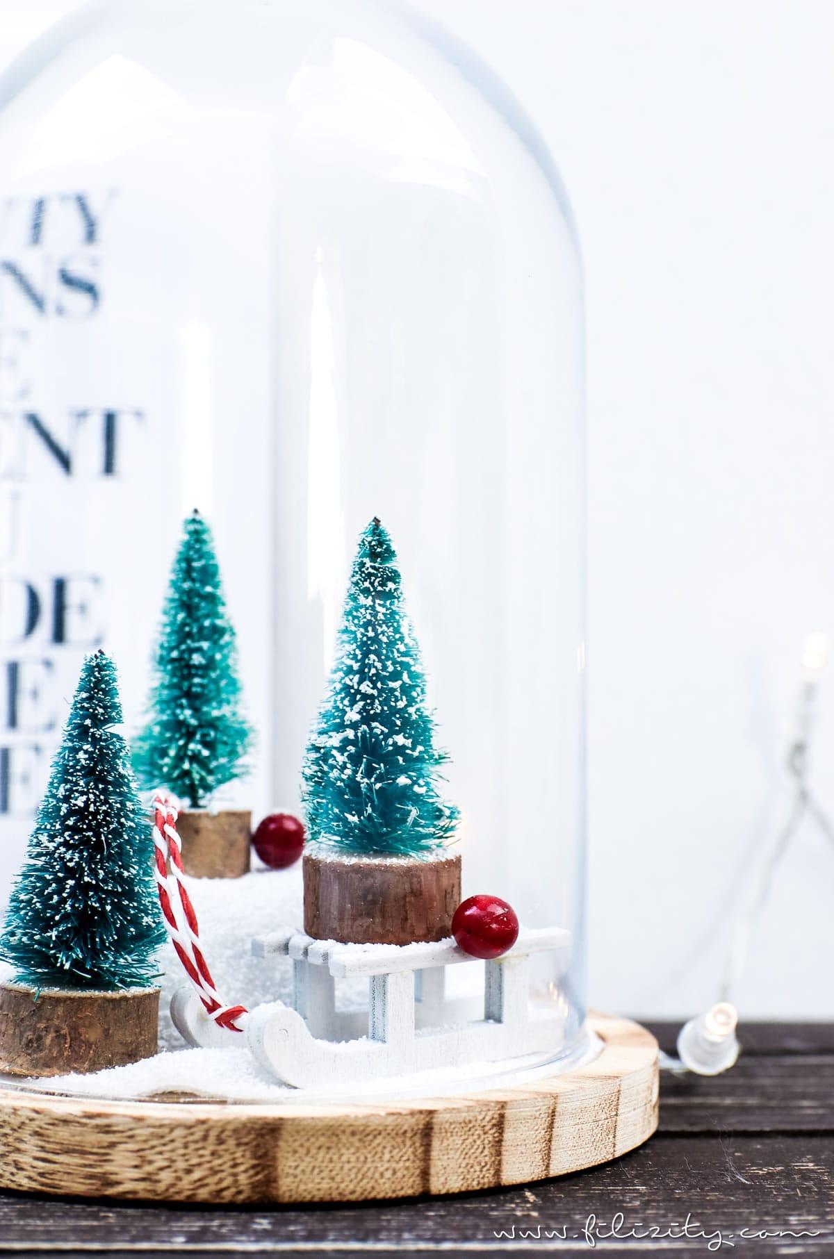 winterwonderland im glas handmade kultur. Black Bedroom Furniture Sets. Home Design Ideas