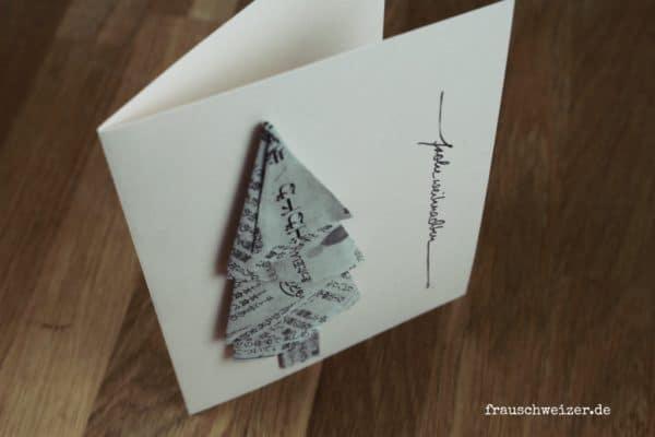 3 Weihnachtskarten zum nachbasteln mit Anleitung!