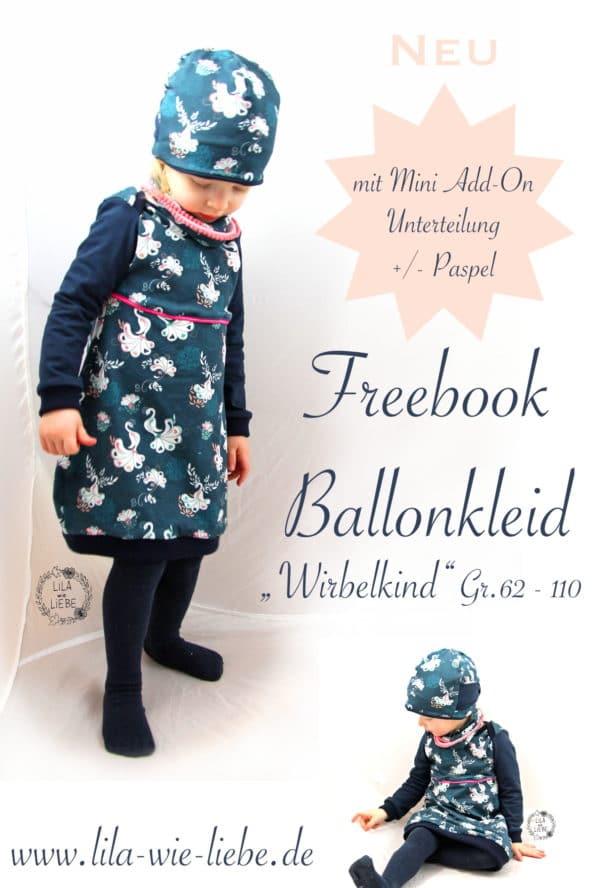 Ballonkleidchen für Kinder - mit Mini Add-On: Unterteilung