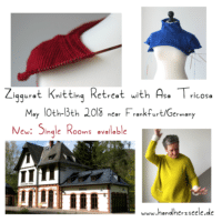 Ziggurat Knitting Retreat 2018