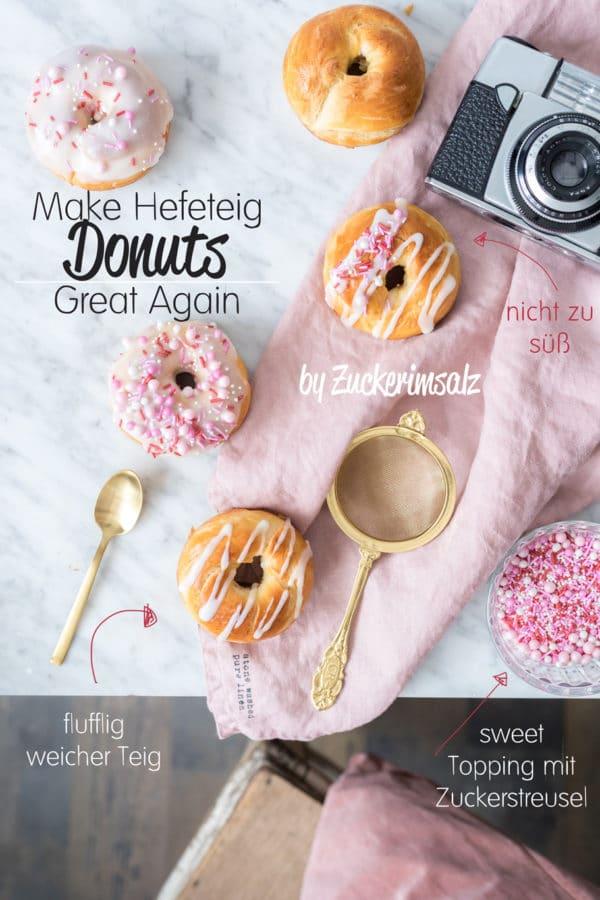Make Hefeteig Donuts Great Again