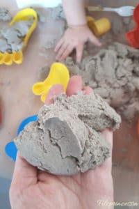 Magischer Sand DIY