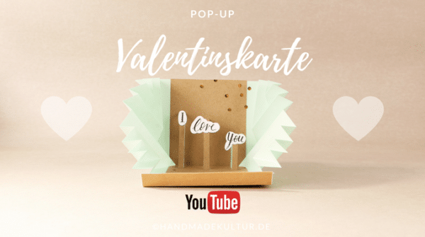 Pop-Up-Valentinskarte