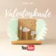 Pop-Up-Valentinskarte