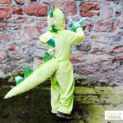 Drachen Kostüm selbernähen - HANDMADE Kultur