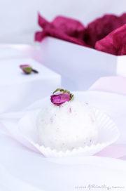 DIY Badebomben mit Rosen