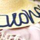 DIY: Strohhut mit Schrift aus Schnürsenkeln - IKEA Fashion Hack