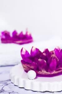 Kristall-Seife selber machen