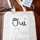DIY - Stoffbeutel selbst beschriften