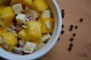 Frischer Mango-Mozzrella-Salat