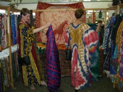 Twiga Design Stoff aus Afrika
