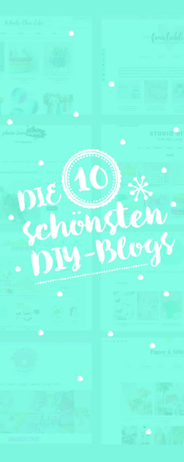 10 diy blogs auf deutsch englisch top ten handmade kultur. Black Bedroom Furniture Sets. Home Design Ideas