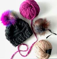 Schnell schicke warme Ohren: Mütze in 2-3h gestrickt!