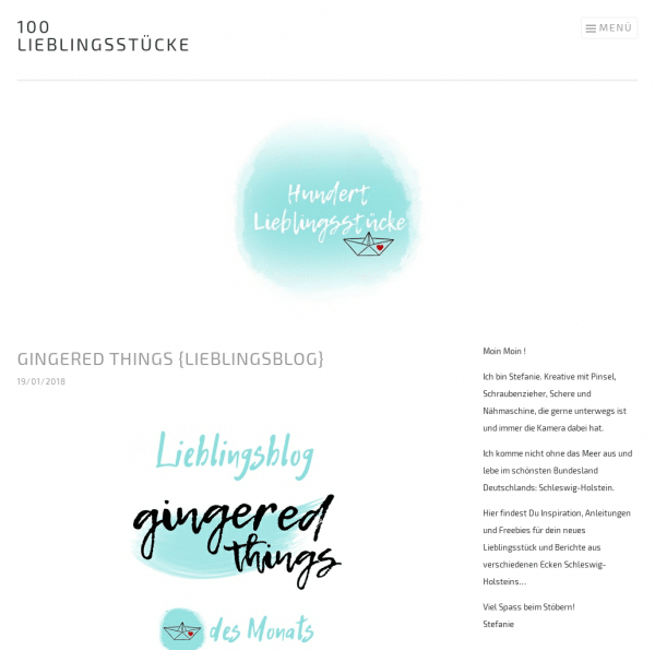 100 Lieblingsstücke - DIY-Inspiration für dein neues Lieblingsstück und mehr...