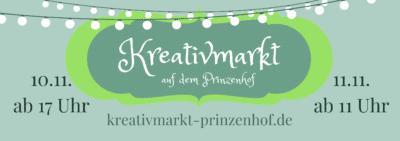 Kreativmarkt auf dem Prinzenhof