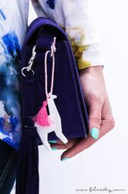 DIY Lama Taschen-Anhänger